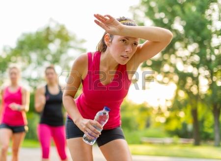 woman-after-running-on-a-hot-summer